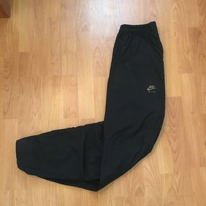 Vtg Nike FIT ACG Spell Out Zip Up Velcro Pants L